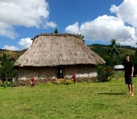 Fidschi-Unterrichten-Haus
