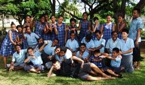Fidschi-Unterrichten-Schüler
