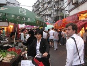 China Jura - Praktikum Markt