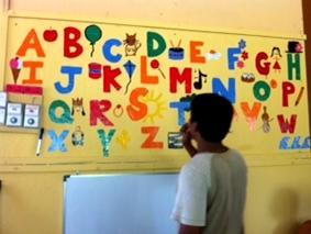 Sri Lanka-Sozialarbeit-Alphabet