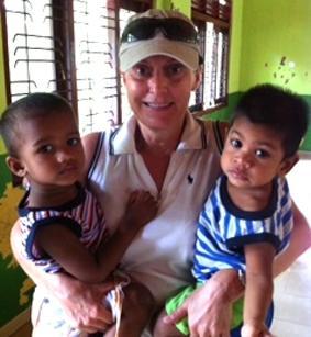 Sri Lanka-Sozialarbeit-Freiwillige