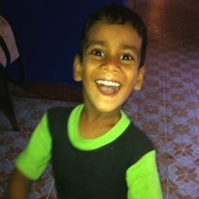 Sri Lanka-Sozialarbeit-Kind