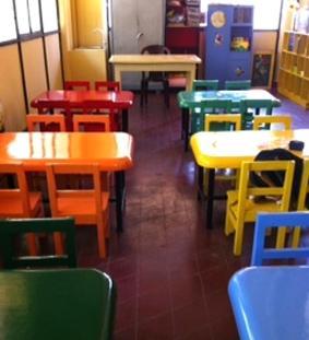 Sri Lanka-Sozialarbeit-Tische
