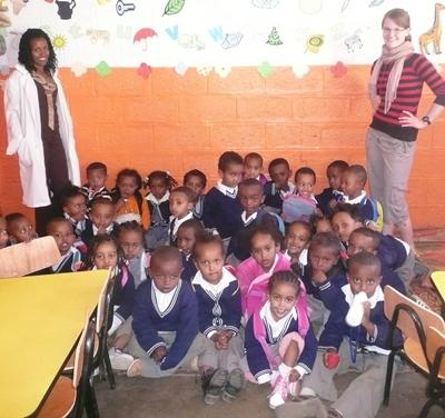 Sozialarbeit Äthiopien Klasse