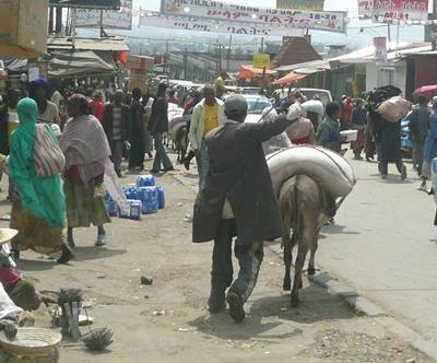 Sozialarbeit Äthiopien Strasse