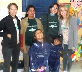 Bolivien-Sozialarbeit-Freiwillige