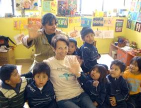 Bolivien-Sozialarbeit-Kinder