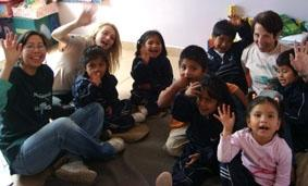 Bolivien-Sozialarbeit-Kollegen
