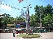 Platz vor dem Krankenhaus in Karapitiya