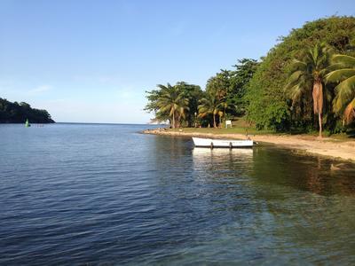 Bild einer Lagune in Port Antonio von einer Freiwilligen