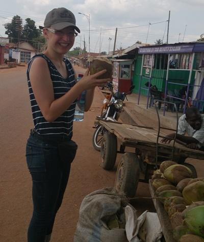 Hanna auf dem Markt