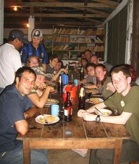 Peru, Inka Projekt, Abendessen