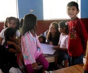 Peru, Inka Projekt, Schule