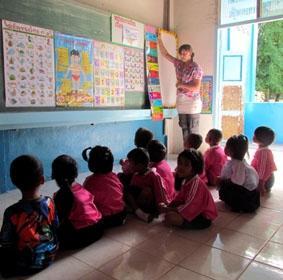 Thailand, Sozialarbeit, Farben