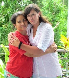 Thailand, Sozialarbeit, Gastmutter