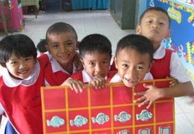 Thailand, Sozialarbeit, Mittagspause