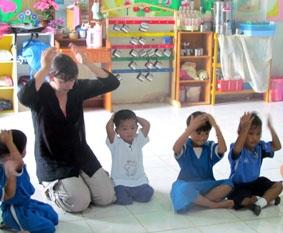 Thailand, Sozialarbeit, Tanzen