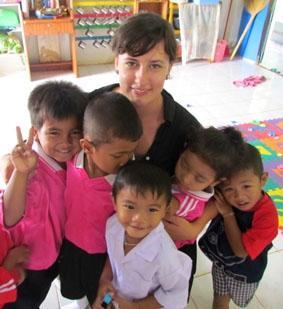 Thailand, Sozialarbeit, Verstecken