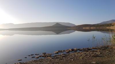 Der Lac de Tilsit bei einem Ausflug