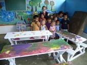 Costa Rica-Sozialarbeit-Kindergarten