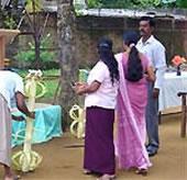 Freiwillig, Sri Lanka, Fest