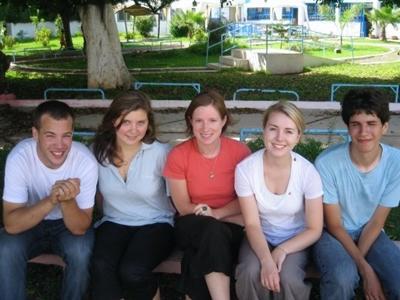 Gruppe von Freiwilligen