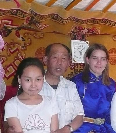 Zu Gast bei einer einheimischen Familie