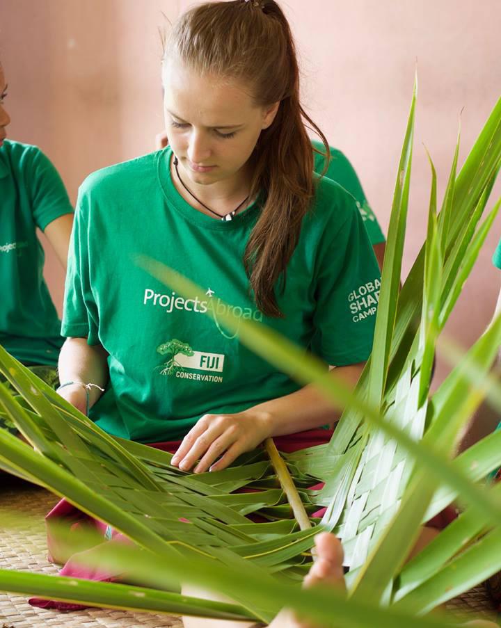 Freiwillige auf den Fidschi-Inseln