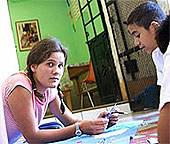 Mexiko, Freiwillig, Karte Karin