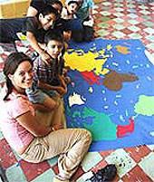 Mexiko, Freiwillig, Weltkarte