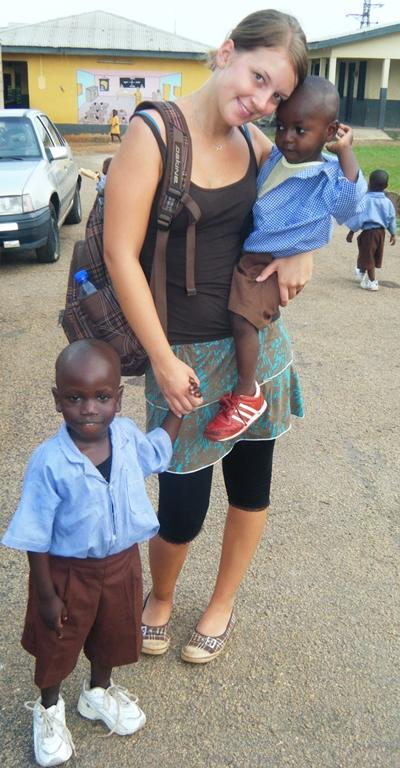Sozialarbeit Ghana Ausflug