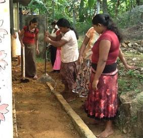 Sri Lanka-Sozialarbeit-Arbeit