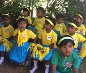 Sri Lanka-Sozialarbeit-Farben