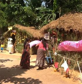 Sri Lanka-Sozialarbeit-Sportfest