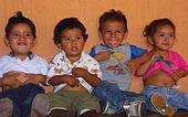 Waisenkinder in Mexiko