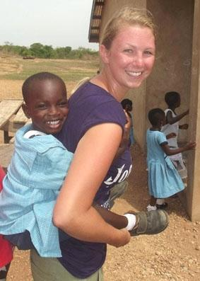 Ghana-Sozialarbeit-Kind