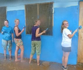 Ghana-Sozialarbeit-Waisenheim