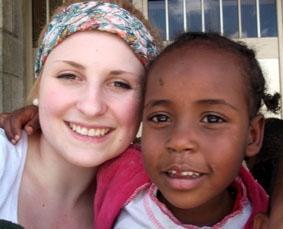 Äthiopien, Sozialarbeit, Waisenkind