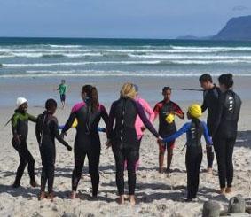 sudafrika-sport-aufwarmen