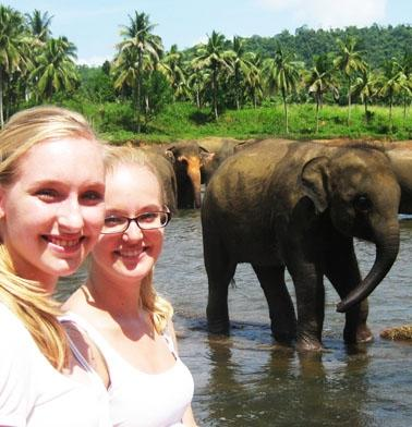 Sri Lanka Sozialarbeit Elefanten