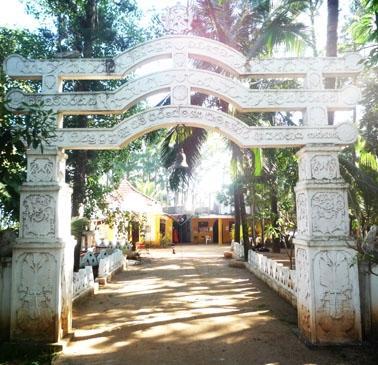 Sri Lanka Sozialarbeit Tempel