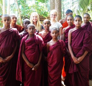 Sri Lanka Sozialarbeit Unterrichten