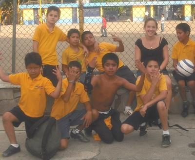 Sozialarbeit Mexiko Fusßball