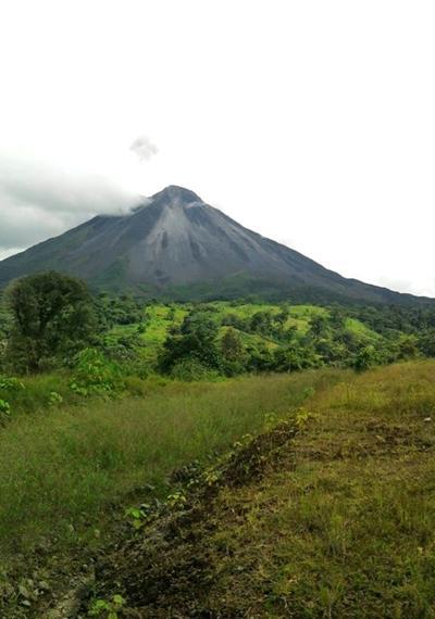 Costa Rica-naturschutz-vulkan