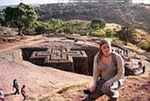 Auf meinem Ausflug in Äthiopien