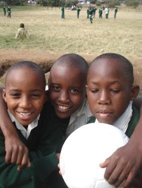 Tansania Sport Kinder