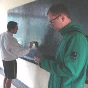 Tansania Sport Unterricht