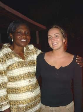 Medizin Praktikum Ghana Gastmutter