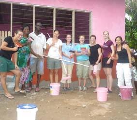 Medizin Praktikum Ghana Schule