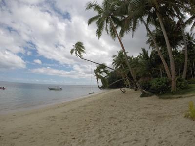 Strandabschnitt auf Fidschi
